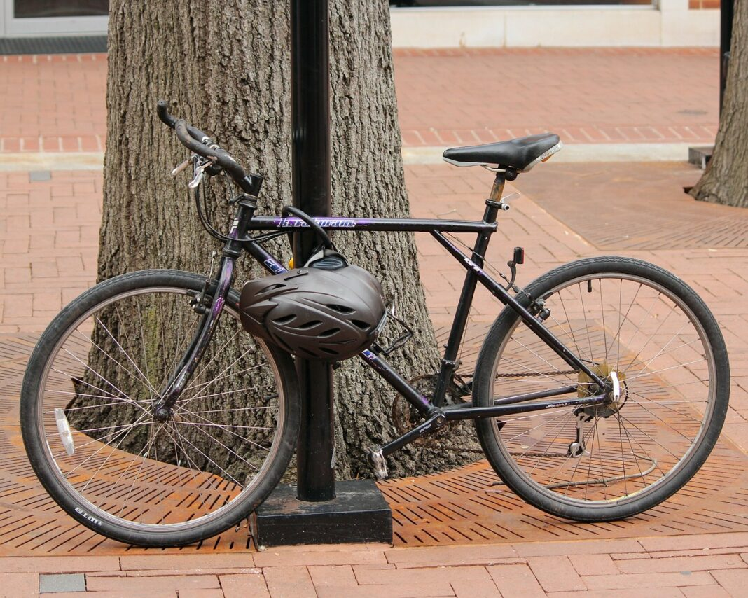 How to Lock a Bike without a Rack