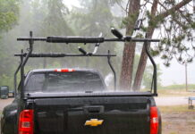 Ladder rack for truck